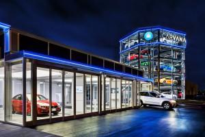 Автомат по продаже автомобилей США