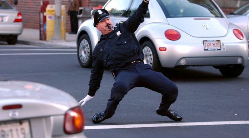 Веселый Полицейский