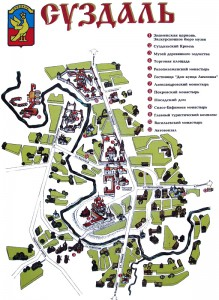 Суздаль Карта