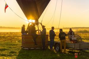 Полет на воздушном шаре aeronuts Сборы