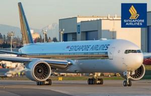 Сингапурские Авиалинии Самолет Аэропорт