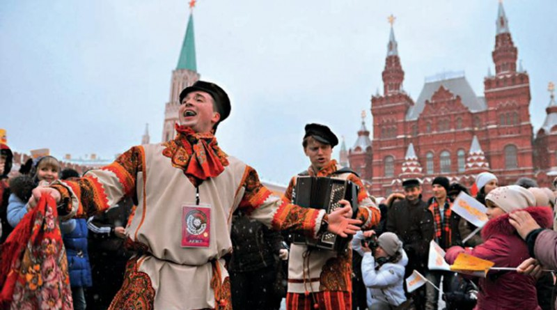 Городской Фестиваль - Московская Масленица - 2017 Красная Площадь