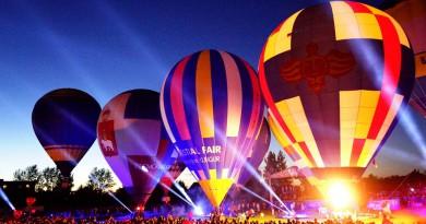 Фестиваль Воздухоплавания Небесная Ярмарка Кунгур - 1