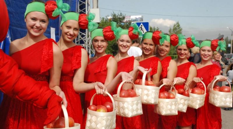 Праздник Минусинского Помидора Красноярский Край - 1