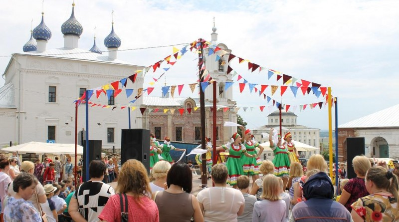 Фестиваль Золотая Ладья Касимов Рязанская Область Выступление