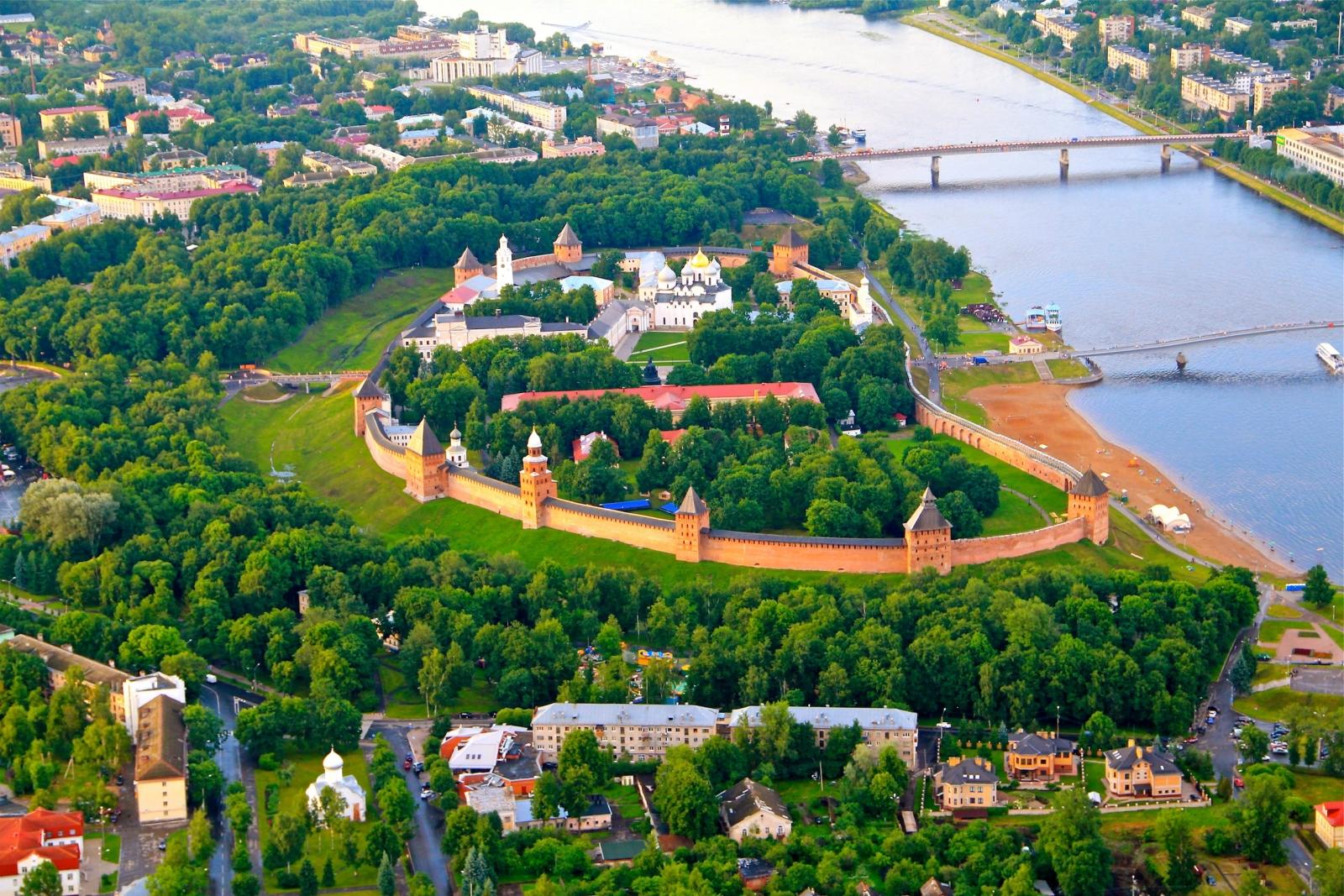 Великий Новгород Серебряное Ожерелье России