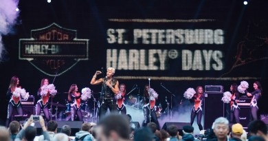 Фестиваль Harley Days Санкт Петербург 2