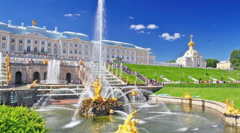 Открытие Фонтанов В Петергофе Санкт-Петербург - 2