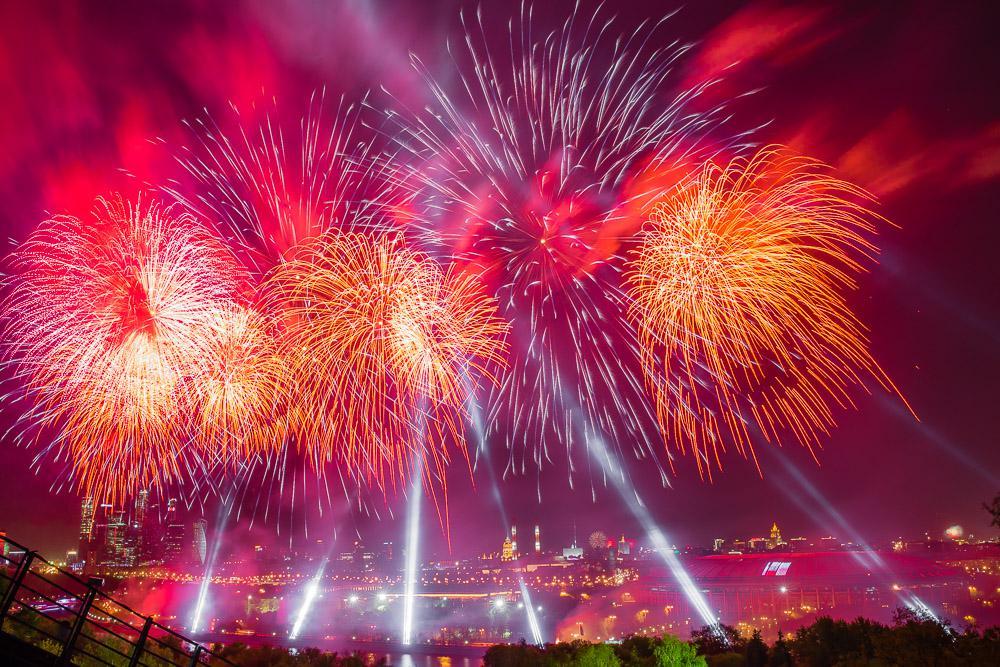 Фестиваль Фейерверков Звездопад Смоленск - 2