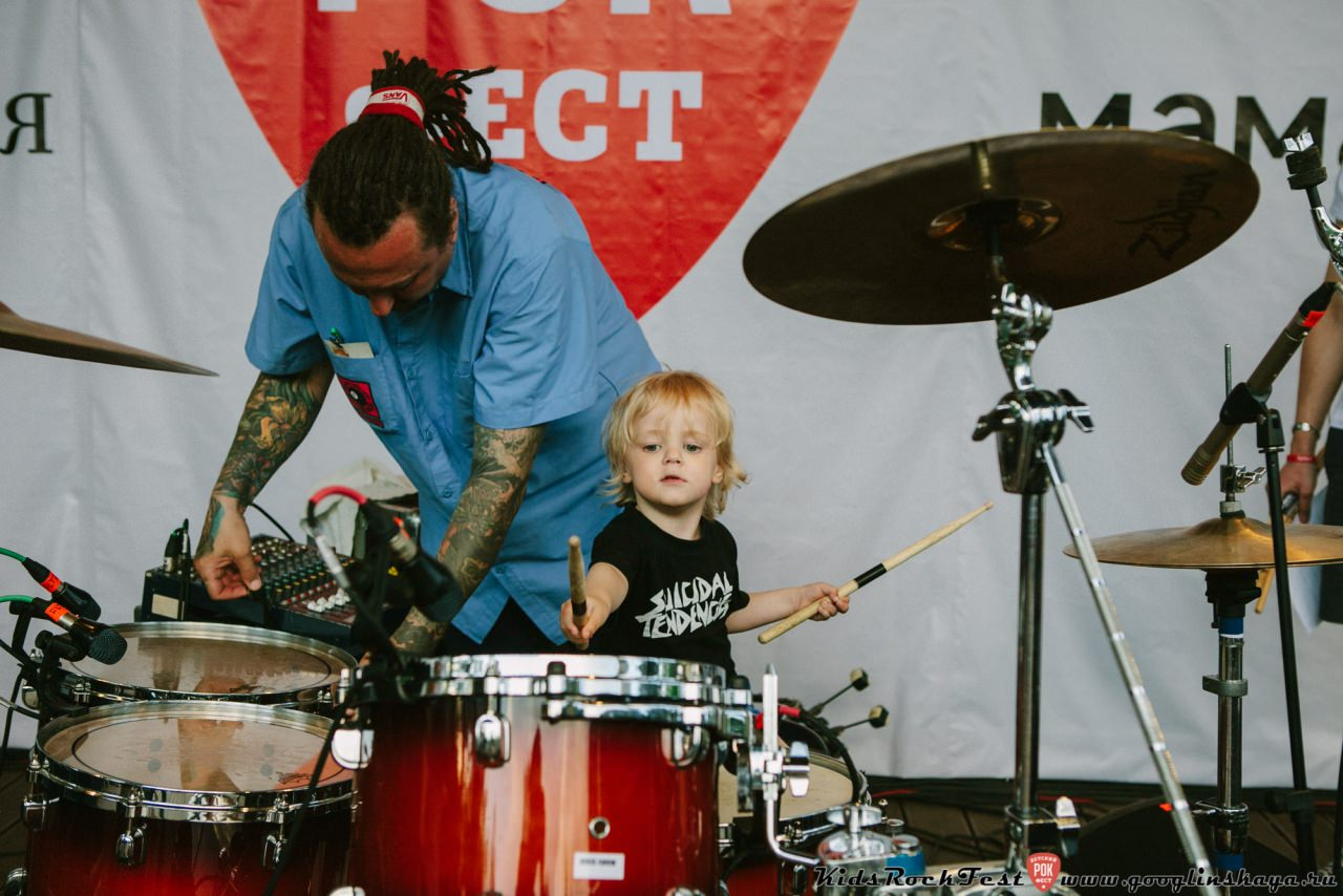 Фестиваль Kids Rock Fest Москва - 2